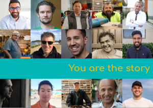 You Are the Story - Mens